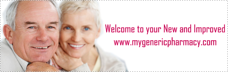 Welcome to your New & Improved myGenericPharmacy