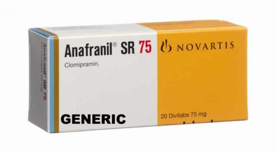 Generic Anafranil SR (tm)  75mg (30 pills)
