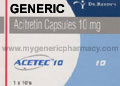 Generic Aceret (tm)  10mg (90 pills)