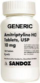Generic Amitrip (tm)  10mg (90 Pills)