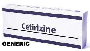 Cetirizine 10mg (30 pills)