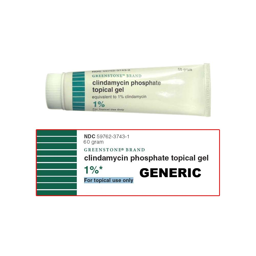 Generic Clinda-Derm (tm) A 1% Gel (3 Tube)