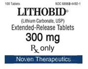 Generic Eskalith (tm)  300mg (60 pills)