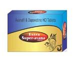 Generic Extra Super Avanafil+Dapoxetine (Stendra) (tm)  260mg 90 Pills