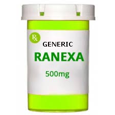 Generic Ranexa (tm) 500mg (60 Pills)