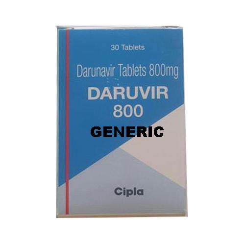 Generic Daruvir (tm)  800mg (60 Pills)