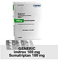 Generic Imitrex (tm)  100mg (27 Pills)