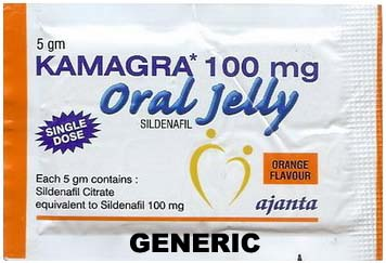 Generic Viagra (tm)  ORAL jelly 100mg 7 flavours (35 packs)