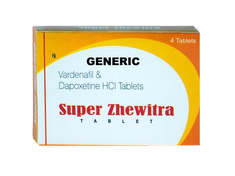 Generic Super Levitra 80mg (20mg + 60mg) Trial Pack (10Pills)
