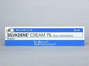 Generic Silvadene (tm)  1% Cream - 25gm (5 tubes)