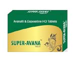 Generic Super Avanafil+Dapoxetine (Stendra) (tm) Trial Pack 160mg 12 Pills