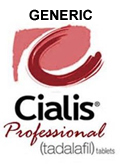 Generic Cialis Professional Trial Pack 20mg (10 Pills)