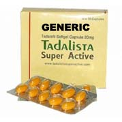 Super Active Cialis (tm)  20mg (60 Soft Gelatin Pills)