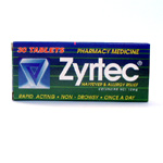 Generic Zyrtec (tm)  10mg (30 pills)