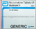 Generic Acitrom (tm) 1mg (60 pills)