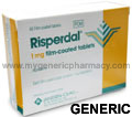 Generic Risperdal (tm)  1mg (90 Pills)