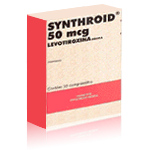 Generic Synthroid (tm)  75mcg (120 pills)
