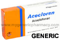 Generic Aceclofenac (tm) 100mg (120 pills)