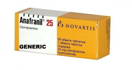 Generic Anafranil (tm)  25mg (120 pills)