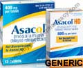 Generic Asacol (tm)  400mg (100 pills)