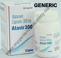 Generic Virataz R (tm)  300mg+100mg (30 Pills)
