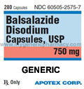 Generic Intazide (tm) 750mg (30 Pills)