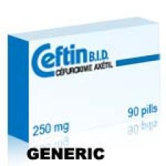Generic Ceftin (tm) 250mg (20 pills)