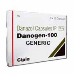 Generic Danocrine (tm) 100 mg (60 Pills)