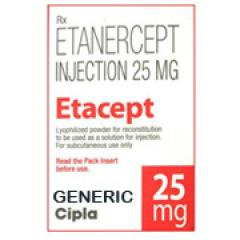 Generic Enbrel (tm) 25 mg / 3 ml 1 Vial (1 Bottle)