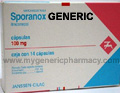 Generic Sporanox (tm) 100mg (10 Pills)