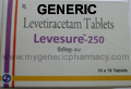 Generic Levroxa (tm) 250mg (30 Pills)