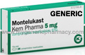 Generic Singulair (tm) 5mg (120 pills)