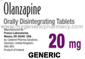 Generic Zyprexa (tm) 20mg (30 Pills)