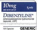 Generic Dibenzyline (tm)  10mg (120 pills)