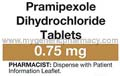 Generic Pramirol (tm) 0.75mg (30 Pills)