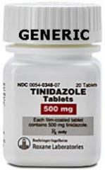 Generic Tindamax (tm) 500 mg (60 Pills)