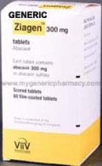Generic Ziagen (tm) (ABC) 300mg (60 Pills)