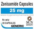 Generic Zonisep (tm) 25mg (150 Pills)
