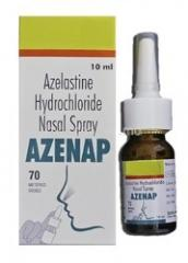 Astelin (tm) Nasal Spray 0.1% 10ml (3 bottles)