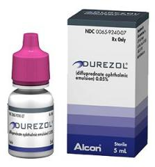 Generic Durezol (tm) 0.05% 5ml (5 Bottle)