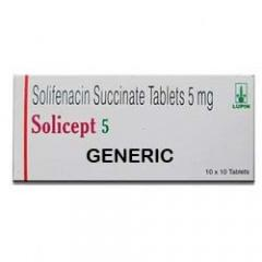 Generic Vesicare (tm) 5mg (90 Pills)