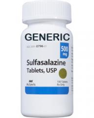 Generic Azulfidine (tm) 500 mg (180 Pills)