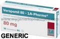 Generic Verpamil (tm) 80mg (120 Pills)